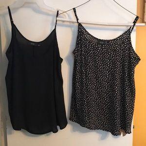 Pair of cute Dressy tank tops.